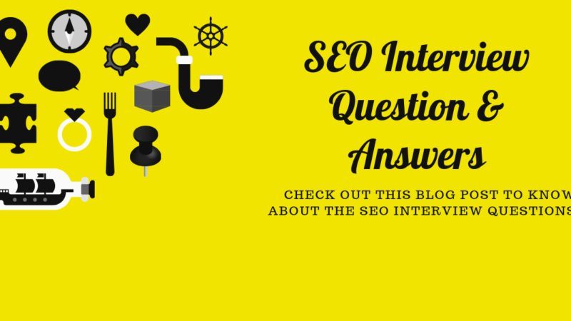 SEO Interview Questions Answers 2019